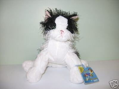 Webkinz Interactive  Pet From Ganz Black and White Cat
