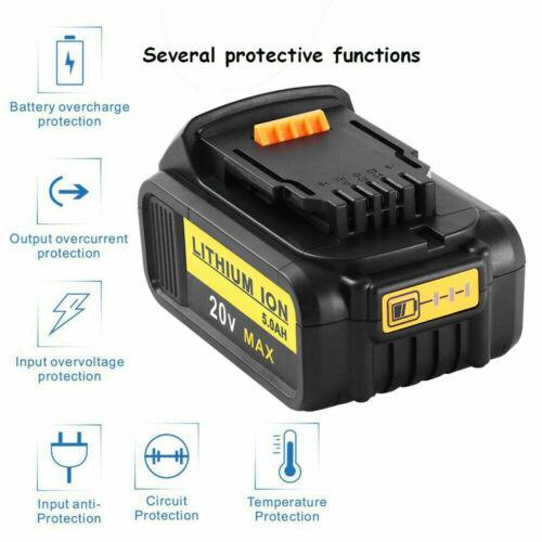 2XFor DeWalt DCB184 18V 5.0Ah XR Slide Battery DCB182 DCB180 DCB184-XJ DCF885 UK