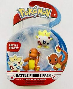 POKEMON-BATTLE-FIGURE-TOGEPI-amp-CHARMANDER-NEW-BOXED-TOY-CHARACTER-PACK