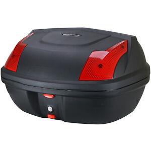 48L Carbon Motorcycle Top Box Motorbike/Bike Luggage/Helmet Back Storage
