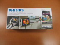 Philips Twinplay Portable Video Two 7 Widescreens For Iphone/ipod/ipad
