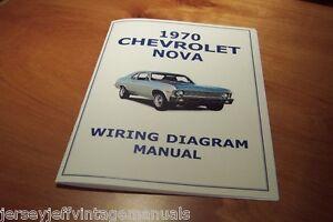 1970 Chevy Nova Ss L78 Wiring Diagram Manual 396 427 Gm Yenko Ebay