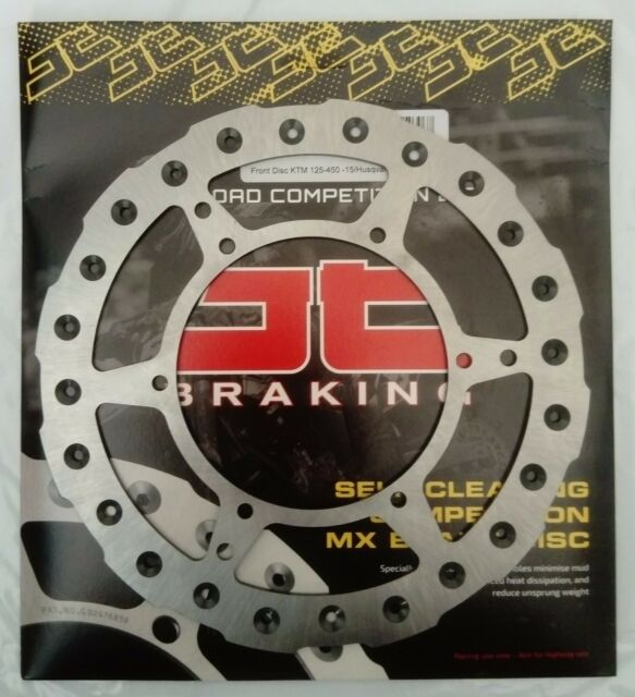 Husqvarna TC250 (2014 to 2017) JT Brakes Self Cleaning FRONT Wavy Brake Disc