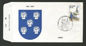 Amical Belgique Fdc 1er Jour 1979 Ciney Cercle Des Collectionneurs /l1881