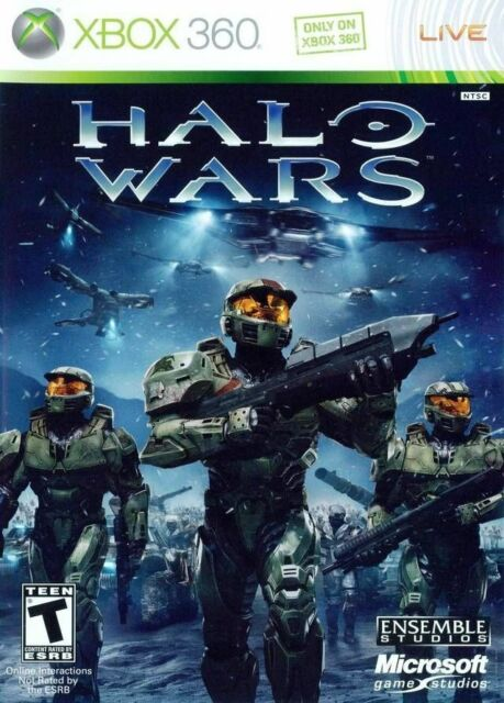Halo Wars Xbox 360 Kids Game Complete