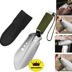 Portable Garden Shovel Weeder Trowel Weeding Cutting Hand Tool Outdoor Hiking