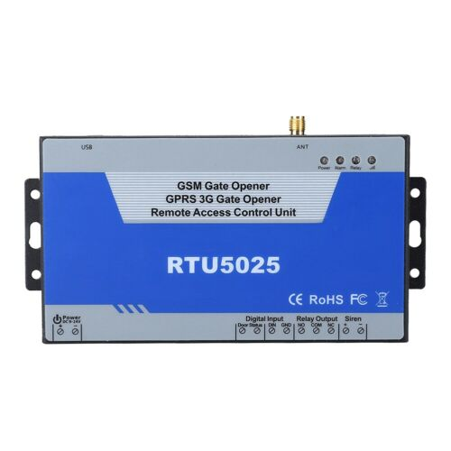 RTU5025 Wireless GSM Gate Opener Relay Switch Remote Control Door Access System