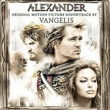 Alexander  Motion Picture Soundtrack by Vangelis (CD-2004, Sony) LIKE NEW