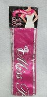 Miss Bachelorette Sash Hot Pink 6' Bridal Shower Party Bride To Be Night Out