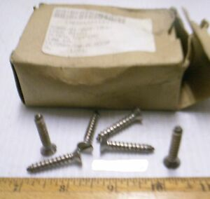 Box-of-Woodford-Hardware-Co-Stainless-Steel-Tapping-Screws-NOS