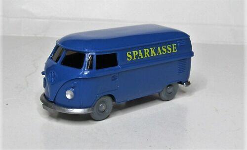 PMS WVM Wiking 1:87 VW T1 Transporter Sparkasse Sonderfarbe preußischblau