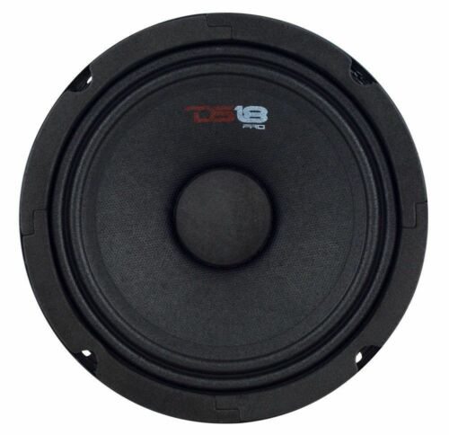 "4 Speakers DS18 6.5/"" Midrange Loudspeaker 1920W Max 8 ohm PRO-GM6 Speaker"
