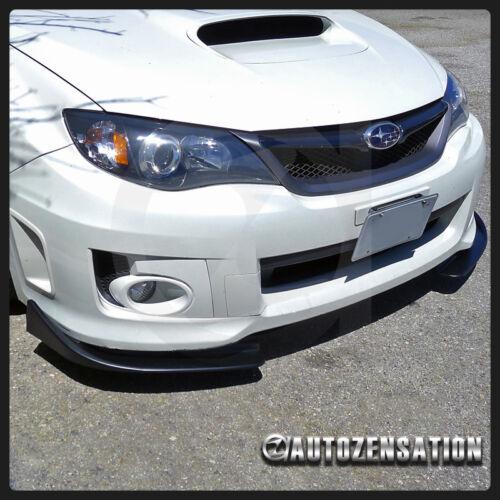 Front Bumper Lip Spoiler Canard Flipper Splitters Diffuser For Civic Integra