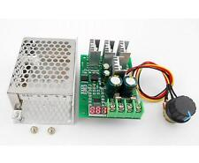 30A DC 6V 12V 24V Adjustable PWM Motor Speed Controller Switch With LED Display