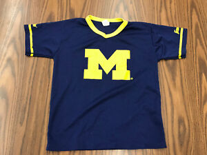 innovative design d8fe3 7d71e Details about Vintage Michigan Wolverines Football Jersey Franklin NCAA  Youth Medium Tom Brady