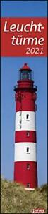 Kalender Leuchtturm 2021 times/&more Leuchttürme Planer long lang Langplaner