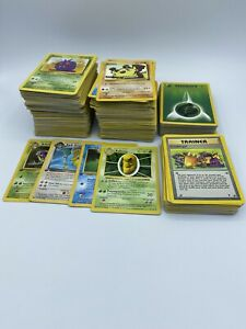 1999-2001-Pokemon-Card-Lot-Played-Very-Played-Condition-Shadowless-1st-Edition