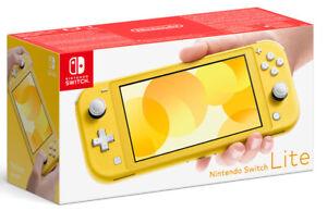 Nintendo Switch Lite Amarillo / Yellow Consola Nintendo