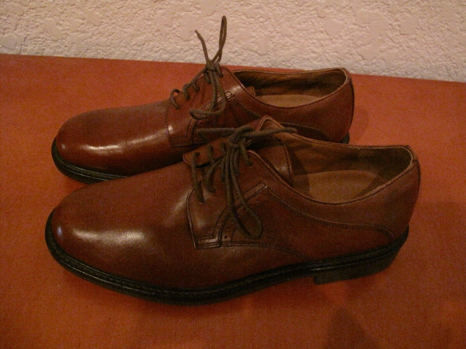 JOHNSTON MURPHY MEN'S LEATHER BROW SHOES SIZE 11 M