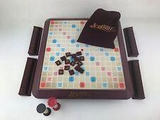 2001 Deluxe Scrabble Crossword Turntable Game Board Game - 100% Complete