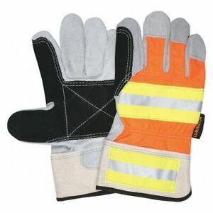 Mcr Safety 14401Dpl Hi Vis Orange Reflective Fabr,Pk12