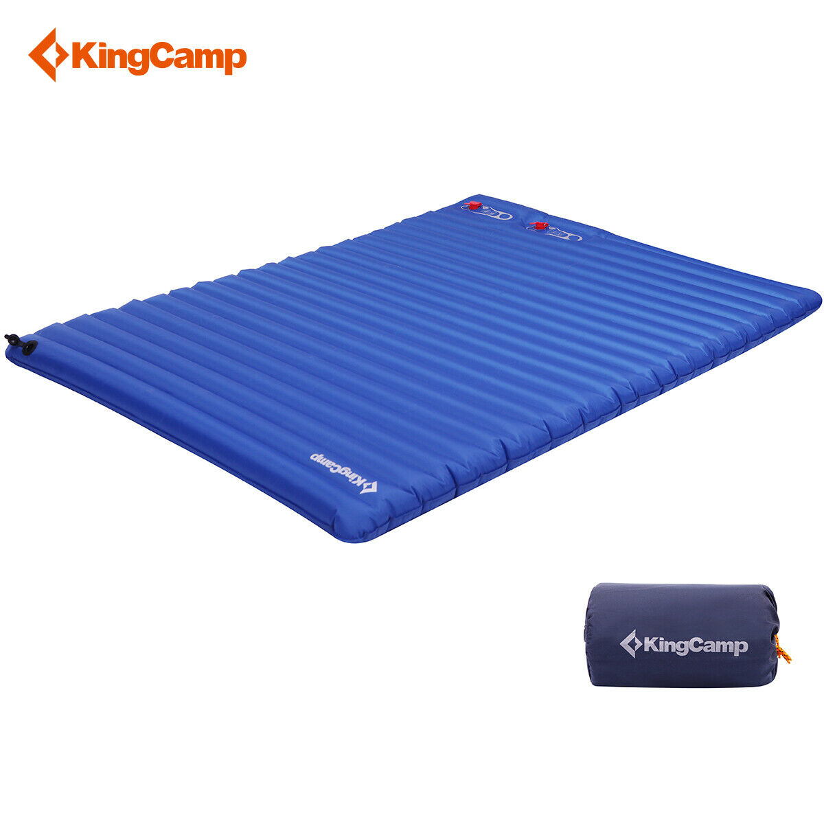 KingCamp Airbed 2-Person Camping Sleeping Mat Pad  Bed Outdoor Casual Mattress