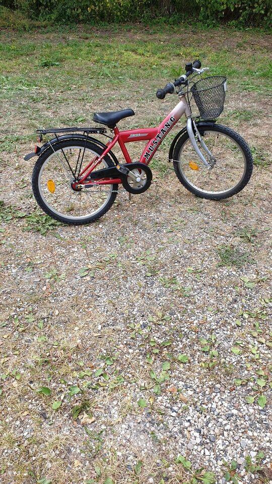 Unisex børnecykel, anden type, Mustang