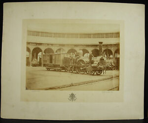 Photography Locomotive Steam Roscanvel Aorkshops? 1880 Courtheoux Steam Train