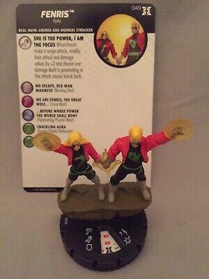 Marvel Heroclix Deadpool /& X-Force 049 Fenris