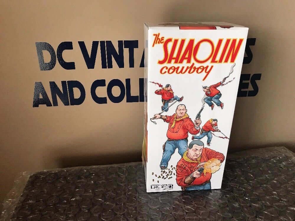The Shaolin Cowboy 14 Inch Vinyl Collectible Action Figure Wednesday's Finest
