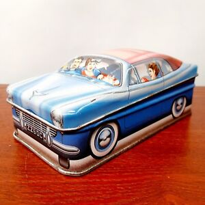Ian Logan's Carlectables Car Collectible Tin Vintage 1982 Storage Container