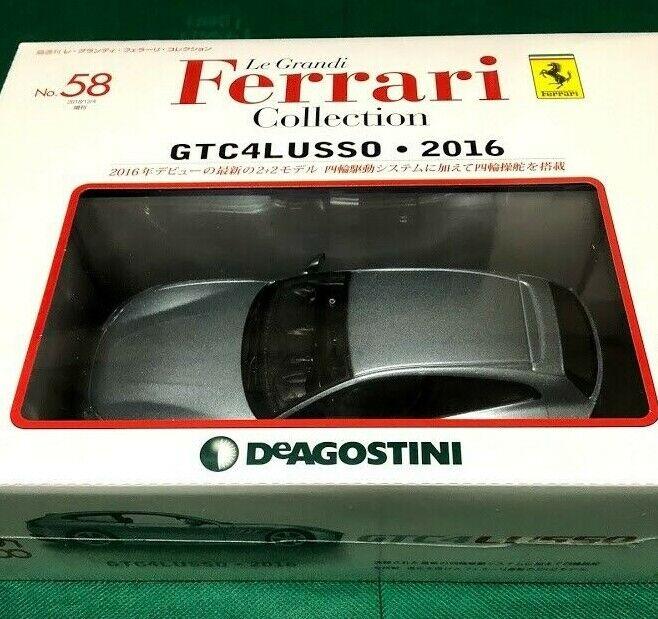 DeAgostini GTC 4 Lusso 2016 1 24 Modelo le Grandi Ferrari COLLECTION Vol.58 Japón