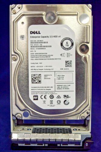 NWCCG 0NWCCG ST6000NM0034 DELL 6TB 12G 7.2K LFF 3.5/'/' SAS HDD HARD DRIVE W//TRAY