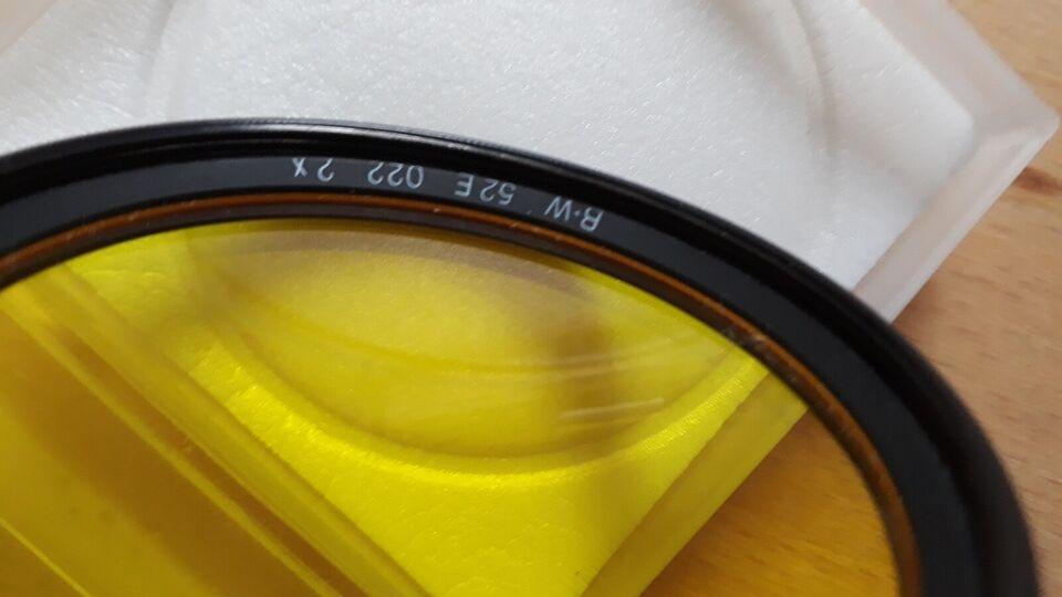 Filter, B&W, Gul filter