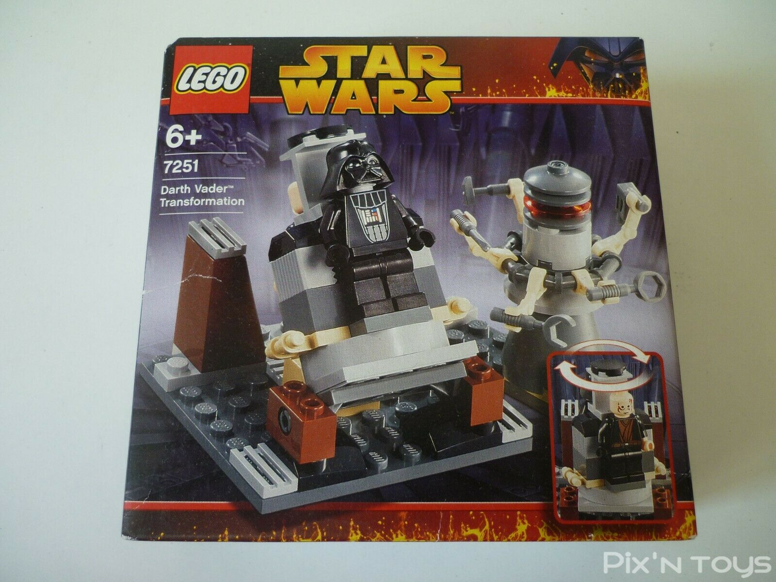 Lego Star Wars 7251 Darth  Vader Transformation  les magasins de détail