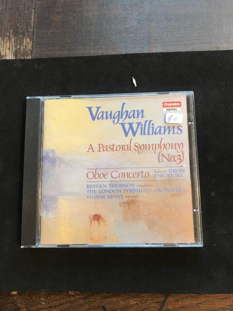 Sinfonie 3/oboenkonzert von Theodore,Thomson,Lso CD Vaughn Williams 742