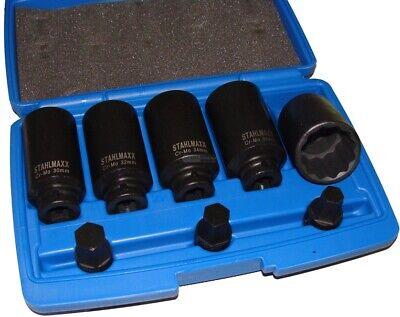 8 pièces cannelé clé à douille Phrase Arbres de Transmission Articulation ondes Outil