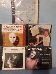 SCHUMANN - CINQUE CD - NUOVI SIGILLATI - VEDI DESCRIIZIONE