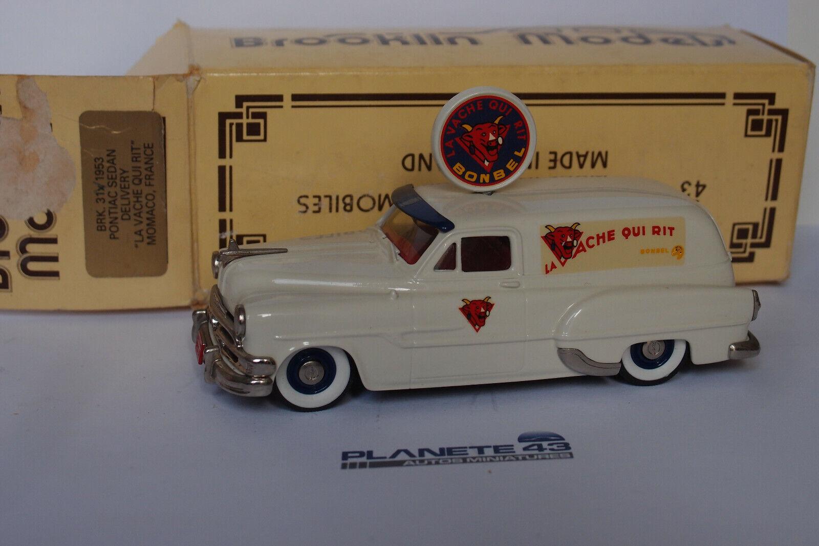 BROOKLIN 31X  1953 PONTIAC SEDAN DELIVERY LA VACHE QUI RIT 1 43