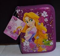 Disney Store Princess Rapunzel Stationary Art Kit Zip Up Tangled School