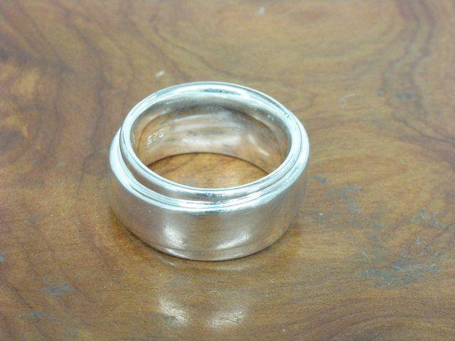 925 STERLING silver RING   ECHTsilver   10,3g   RG 46,5