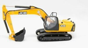 JCB-JS220-Tracked-Excavator-Diecast-Model-1-76-Scale-Oxford-Construction-NEW