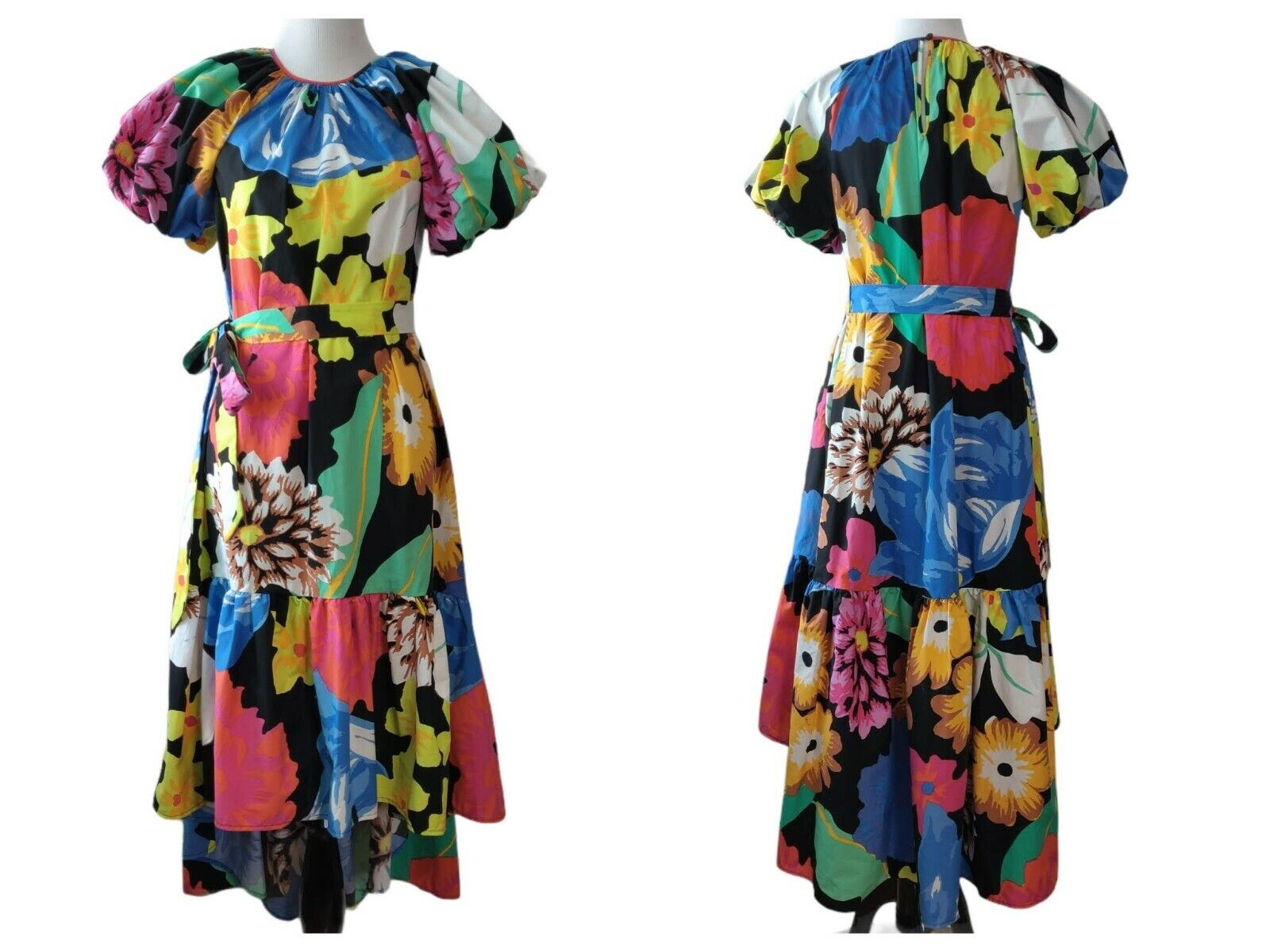 Christopher John Rogers Target Womens Floral Puff… - image 1