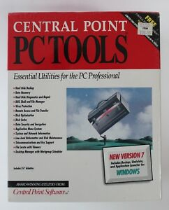 Central-Point-PC-Tools-Version-7-MS-DOS-5-25-034-Software-Disks-New-Factory-Sealed
