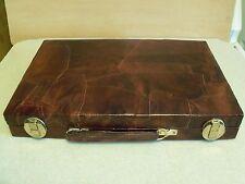 Skor-Mor Backgammon Game In Carry Travel Storage Briefcase Style Unique Design