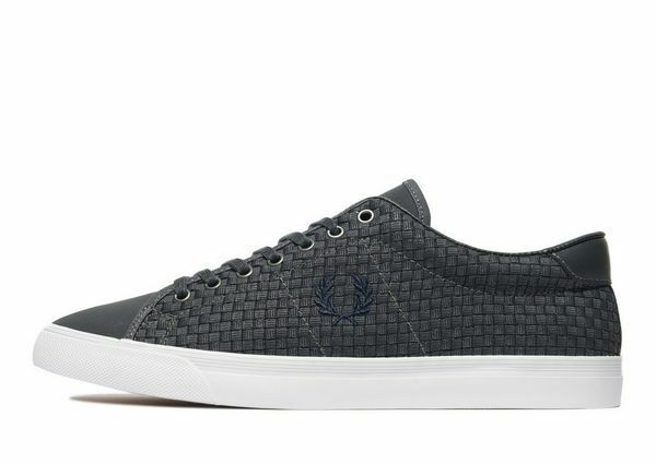 FROT PERRY UNDERSPIN SIZE CHECKERBOARD TRAINER IN CHARCOAL SIZE UNDERSPIN 6 BOXED BARGAIN WOW 4aa2ae