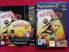 FIFA STREET 2 ORIGINAL BLACK LABEL SONY PLAYSTATION 2 PS2 PAL