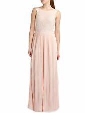 Ted Baker Bai reversible maxi dress Nude UK10 Ted 2