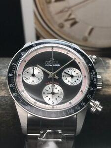 Gevril-Tribeca-Panda-Limited-Edition-37mm-Paul-Newman-Daytona-Swiss-New-Old-Stoc