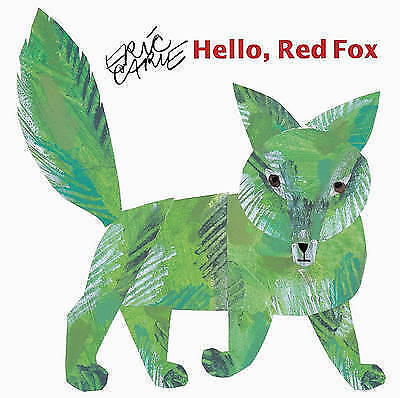 1 of 1 - Hello Red Fox Picture Book by Eric Carle - Childrens Hard back